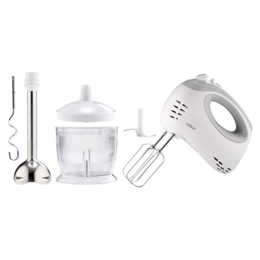 Easy Mix 300W Hand Mixer and blender set
