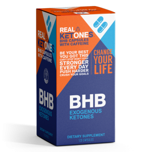 Real Ketones | Keto Ignite Capsules | 15 Servings with Caffeine