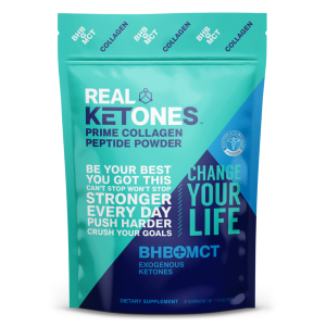 REAL KETONES Keto Silver - Weight Loss Collagen - 20 servings