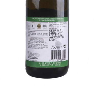 Gallo Extra Virgin Portuguese Olive Oil 750ml