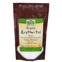 NOW Foods Erythritol Sweetener- 454gms