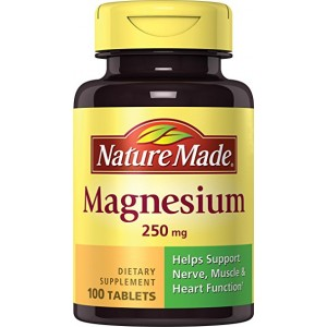 Nature Made Magnesium Tablets 250mg