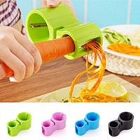 Multifunctional 2 In 1 Spiralizer and Knife Sharpener - assorted colours