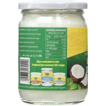 Tropical Sun Virgin  Cold-Pressed Coconut Oil 480 ml