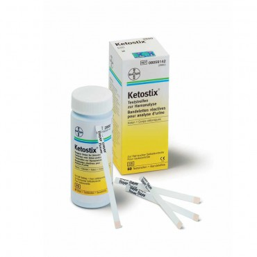 KETOSTIX Reagent Strips For Urinalysis- 10strips