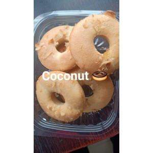Coconut Doughnuts-pack of 5
