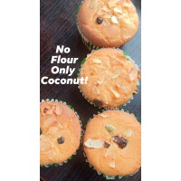 Coconut Cupcakes- pack of 3