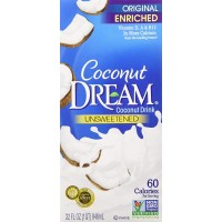 COCONUT DREAM Enriched Unsweetened Vanilla Coconut Drink- 946ml