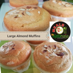 Large Almond Muffins
