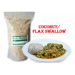 Coconut/Flaxseed Swallow- 400gm