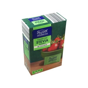 Sweet Additions Stevia- 80packets