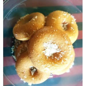 Coconut Mini Doughnuts- pack of 7