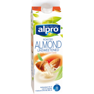 Alpro Almond Milk- Roasted Unsweetened