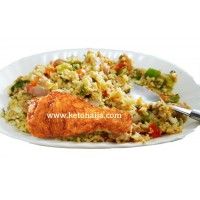 Cauli-Fried Rice & Chicken