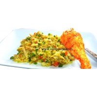 Cabbage Fried Rice with Chicken