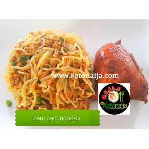 Zero Noodles with Chicken