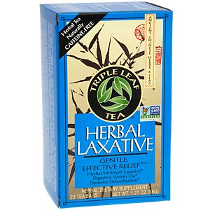 Triple Leaf Tea Herbal Laxative -- 20 Tea Bags