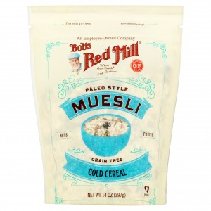 Bobs Red Mill Cereal Muesli Paleo,14 Oz