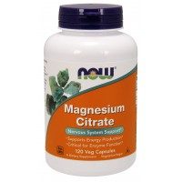 NOW Supplements, Magnesium Citrate, 120 Veg Capsules