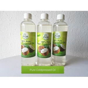 PUR NATURE Virgin Cold pressed Coconut Oil- 500ml