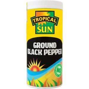 Tropical Sun Black Pepper - Ground- 100g