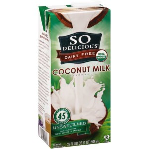 So Delicious® Dairy Free Unsweetened Coconut Milk Beverage 32 fl. oz.