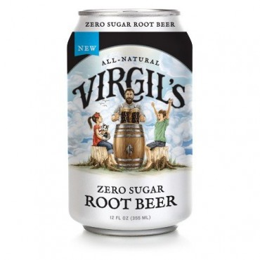 Virgil's New All-Natural Zero Sugar Root Beer