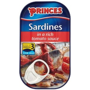 Princes Sardines in a Rich Tomato Sauce 120 g