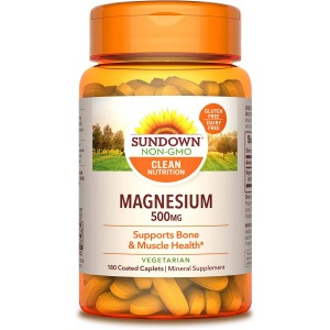 Sundown Magnesium, 500 mg