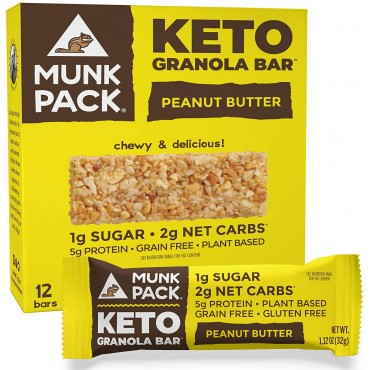 Munk Pack Of Keto Granola Bars