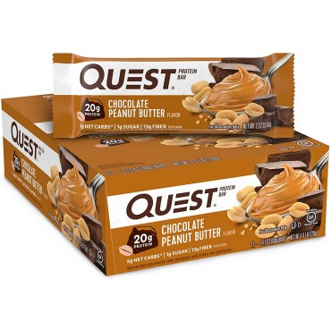 Quest Nutrition Chocolate Peanut Butter Protein Bar