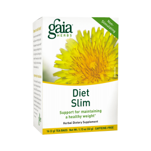 Gaia Herbs Diet Slim Herbal Tea